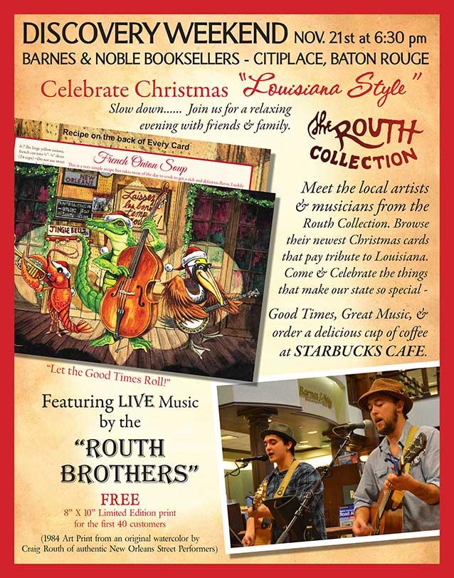 Celebrate-Christmas-Louisiana-Style - Routh Studios, LLC