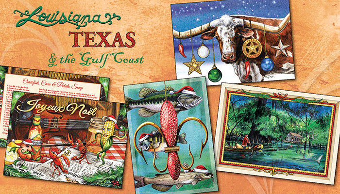 Christmas Cards for Louisiana, Texas and the Gulf Coast