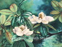 """Magnolia"" Note Cards"