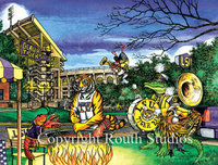 """LSU Tailgate Party"" Note Cards"