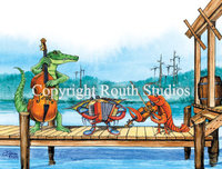 """Pier Party"" Note Cards"