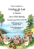 """Cochon de Lait"" Invitations"
