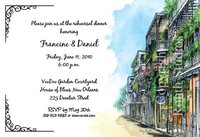 """French Quarter"" Invitations"
