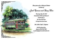 """New Orleans Streetcar"" Invitations"