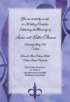 """Purple Majesty"" Invitations"