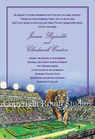 """LSU Tiger Stadium"" Invitations"