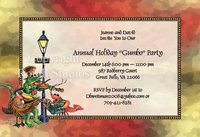 """Carolers in the French Quarter"" Invitations"