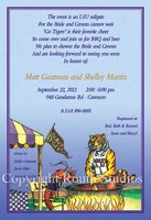 """LSU Tailgating Tiger"" Invitations"
