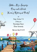 """Celebration on the Bayou"" Invitations"