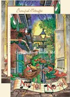 """Pirate's Alley"" Christmas Cards"