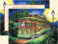 """St. Nick Express"" Christmas Cards, #C8A"