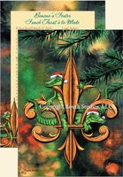 """Fleur-de-lis & Christmas Gators"" Christmas Cards"