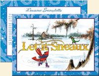 """Let it Sneaux"" Christmas Cards"