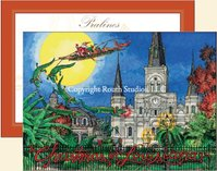 """Jackson Square"" Christmas Cards"