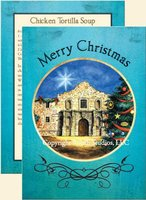 """Christmas at the Alamo"", San Antonio Texas Christmas Cards"