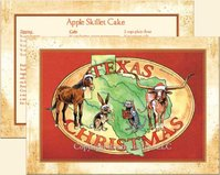 """Texas Carolers"", Texas  Christmas Cards"