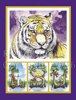 """Tiger with LSU"""