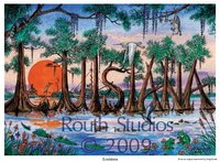"""Louisiana in Cypress Trees"""