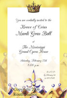 """Crown"" Invitations"