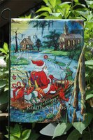 """Bayou Trek Christmas"" Garden Flag"