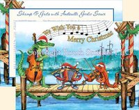 """Pier Party Christmas"" Christmas Cards"