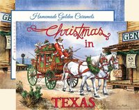 """Santa's Stagecoach Express"", Texas Christmas Cards, #CW14SSE"