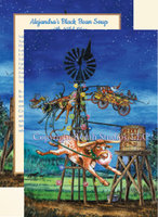 """He'll Be Coming Around the Windmill When He Comes"" Texas - Western/Southwestern Christmas Cards, #CW13WM"