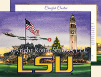 """Christmas on the LSU Parade Grounds"" Christmas Cards"