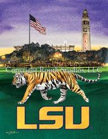 """LSU Parade Grounds"" Note Cards"