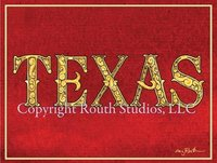 """Texas Fancy"" Note Cards"