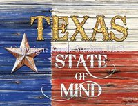 """Texas State of Mind"" Note Cards"