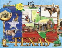 """What I Love About Texas"" Note Cards"