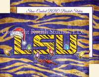 """LSU Lights"" Christmas Cards"