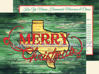 """Texas Merry Christmas"", Texas Christmas Cards"