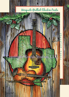 """Texas Music Instruments"", Texas Christmas Cards"