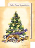 """Geaux Christmas Tree"" Christmas Cards"