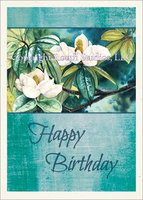 Magnolia Glow, Birthday Card