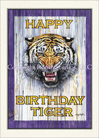 """Tiger Roar"" Birthday Card"
