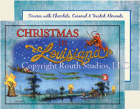 """Louisiana Bonfires"" Christmas Cards"