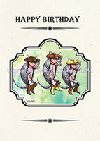 """Armadillo Birthday"" Birthday Card"
