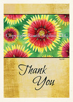 """Indian Blanket Flower"" Thank You"