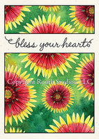 """Indian Blanket Flower"" Blessings"