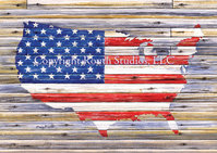 """Rustic Old Glory"""