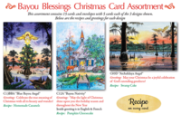 """Bayou Blessings Assortment"" Christmas Cards"