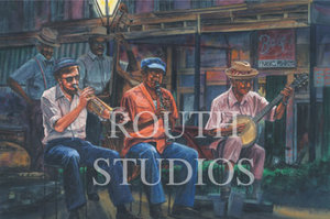 """Dixieland in the French Quarter"