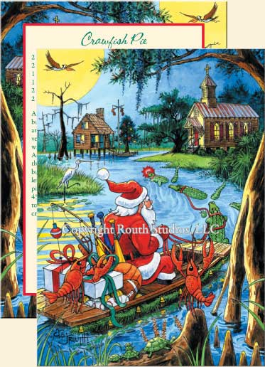 click images for larger view - Christmas In The Bayou