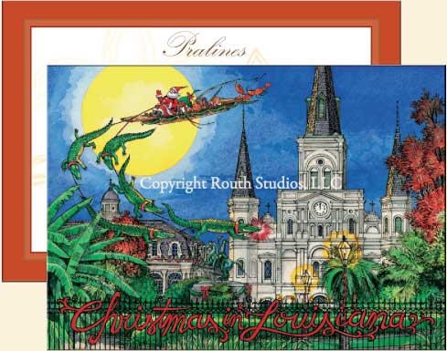 Cajun Christmas Cards