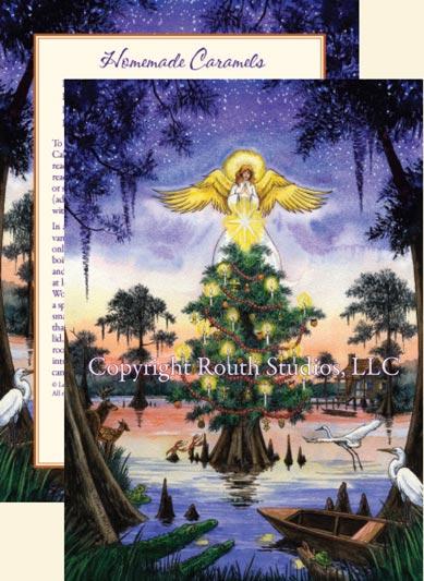 u0026quot blue bayou angel u0026quot  christmas cards