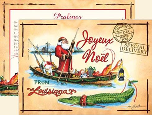 """Papa Noel Cajun Christmas"" Christmas Cards, #C14PNCC ..."