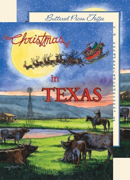 click images for larger view - Texas Christmas Cards
